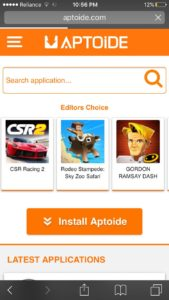 download aptoide for ios