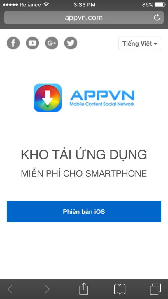 appvn ios download without jailbreak