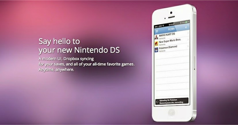 pokemon games for nds4ios