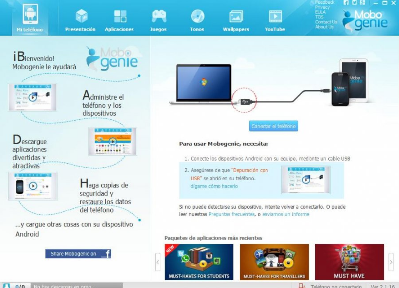 how to use mobogenie for pc