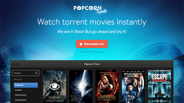 add subtitles in popcorn time app