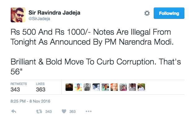 modi bans rs 500 notes twitter reactions